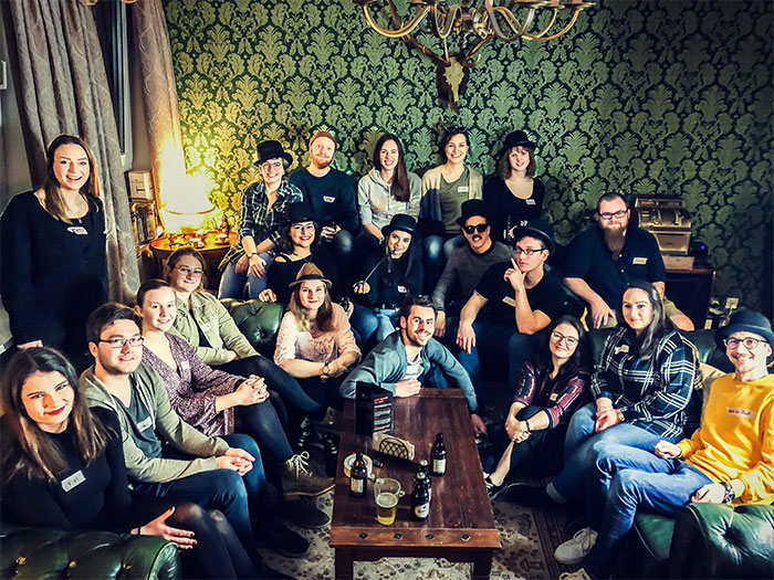 Teamfoto Room Fox