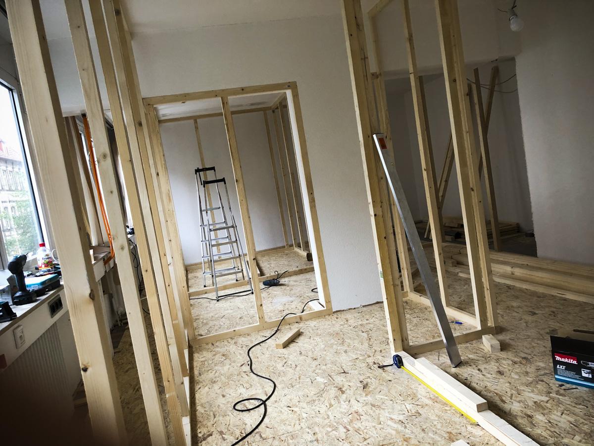 Bauarbeiten im Escape Room